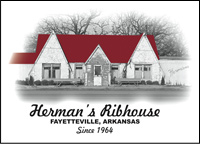 Herman's Ribhouse - Fayetteville, AR