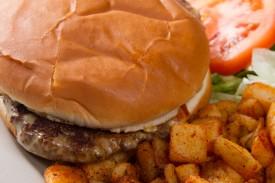 Deluxe Large Hamburger