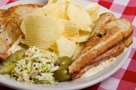 Ham and Cheese Sandwhich